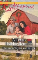 Christian fiction releases A Texas Holiday Reunion by Shannon Taylor Vannater